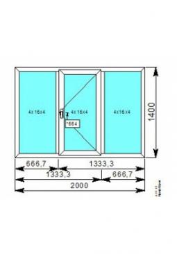 Окно 2000x1400