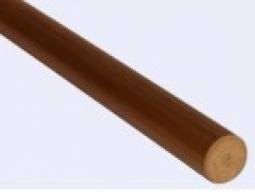Пластиковый поручень ПВХ коричневый 4м. (цена за п.м.)