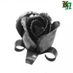 Роза эксклюзивная. ручная работа из металла 2,4мм