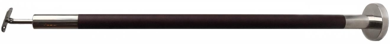 Стойка в сборе с деревянной вставкой d-38,1