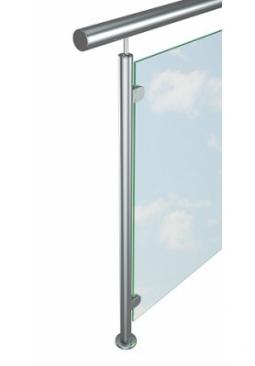 Ограждение со стеклом. Сталь AISI 304