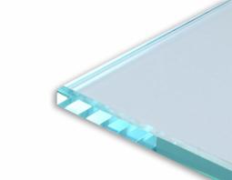 Стекло  8 мм Закаленное, прозрачное, в размер, полир. кромка, с отверстиями