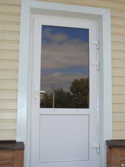 Пластиковые входные двери комбинированные Darrio 900*2100мм.