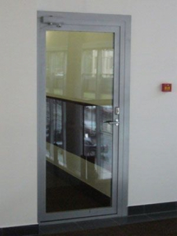 Одностворчатая стеклянная дверь EIW-30