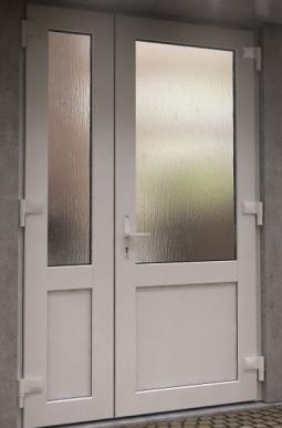 Двери ПВХ КВЕ 1500*2100мм.