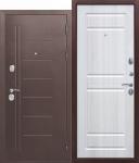 Входная дверь Троя Антик Белый Ясень - 10 см