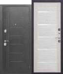 Входная дверь Троя Серебро Лиственница беж - 10 см