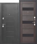 Входная дверь Троя Серебро Темный Кипарис - 10 см