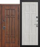 Морозостойкая дверь c ТЕРМОРАЗРЫВОМ 13 см МДФ/МДФ Сосна белая, Винорит