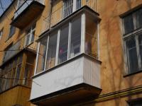 Остекление балкона 700х3200х700х1500мм.