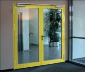 Двухстворчатая стеклянная дверь EIW-30