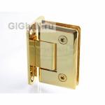 Петля (301 Gold) стена-стекло двухстороннее крепление, под Золото