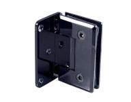 Петля (305 BLC) стена-стекло одностороннее крепление, Черный мат