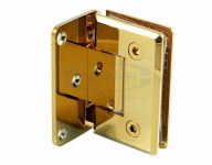 Петля (305 Gold) стена-стекло одностороннее крепление, под Золото