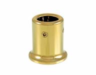 Держатель штанги (907 Gold) стена-штанга Ø19 мм, под Золото