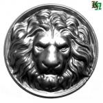 Лев штампованный
