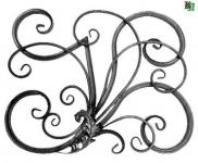 Композиционный орнамент, розетка
