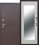 Входная дверь Царское зеркало МАКСИ Белый ясень