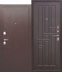 Входная дверь Garda 2 замка + ВО Венге - 8мм