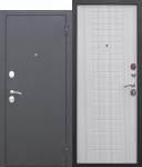 Входная дверь Garda МУАР Белый ясень - 8мм