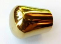 Заглушка внешняя полированная (золото)