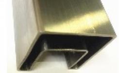 Труба с пазом 24×24 профильная 40×60×1.5×6000, из нержавеющей стали304