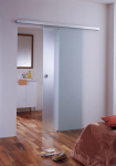 Дверь откатная матовая 1000*2100 мм.