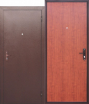 Входная дверь Стройгост 5 РФ Рустикальный дуб