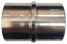 Соединитель 2-х труб d-38 мм.