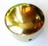 Заглушка для пластикового поручня (золото)