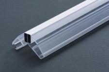 Уплотнитель магнитный для стекла 10 мм, ПВХ, длина 2,2 м. (комплект из 2 штук). (099.10)