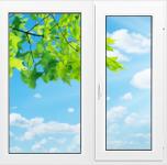 Окно Montblanc Eco - 1300x1400 мм.