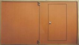 Сварные гаражные ворота 3000х2450