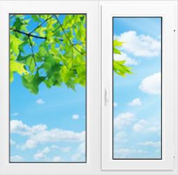 Окно Wintek 530 - 1300x1400 мм.