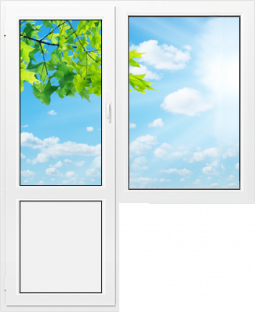 Балконный блок Montblanc Eco - 1400*2100 мм.